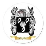 Migalini Round Car Magnet