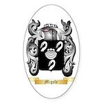 Migale Sticker (Oval 50 pk)