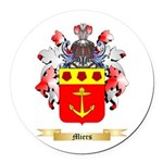 Miers Round Car Magnet