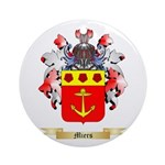 Miers Round Ornament