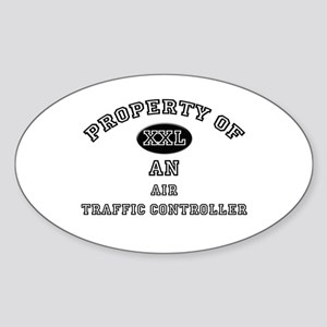 Property of an Air Traffic Controller Sticker (Ova