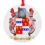 Mier Round Ornament