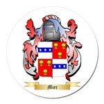 Mier Round Car Magnet