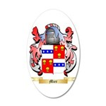 Mier 20x12 Oval Wall Decal
