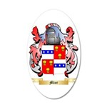 Mier 35x21 Oval Wall Decal