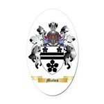 Miebes Oval Car Magnet