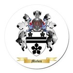 Miebes Round Car Magnet
