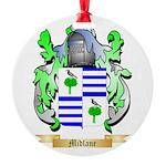 Midlane Round Ornament