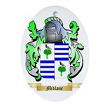 Midlane Oval Ornament