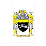 Midgely Sticker (Rectangle 50 pk)