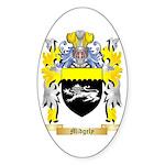Midgely Sticker (Oval 50 pk)