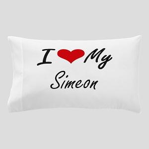 I Love My Simeon Pillow Case
