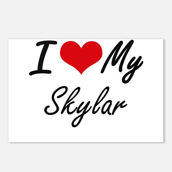 I Love My Skylar Postcards (Package of 8)