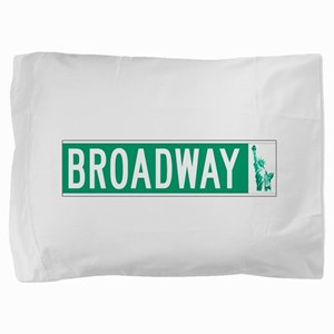 Broadway (with Statue of Liberty), NYC Pillow Sham