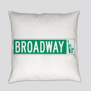 Broadway (with Statue of Liberty), Everyday Pillow