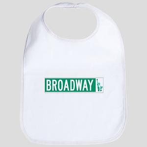Broadway (with Statue of Liberty), NYC Bib
