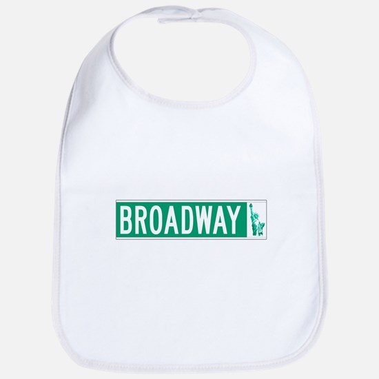 Broadway (with Statue of Liberty), NYC Bib