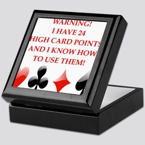 bridge joke Keepsake Box