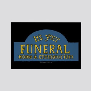 Bob's Burgers It's Your Funeral Rectangle Magnet
