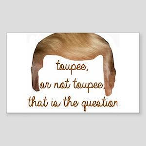 toupee or not toupee, Trump Hair Sticker
