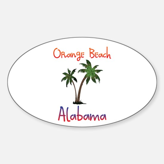 Orange Beach Alabama Decal