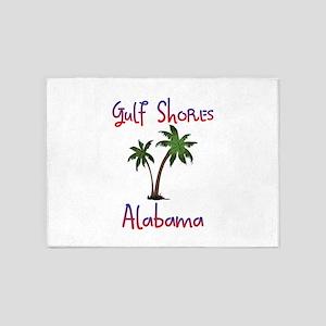 Gulf Shores Alabama 5'x7'Area Rug