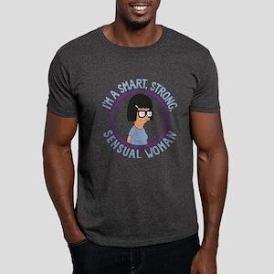 Bob's Burgers Tina Sensual Woman Dark T-Shirt