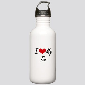 I Love My Tim Stainless Water Bottle 1.0L