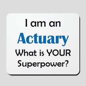 actuary Mousepad