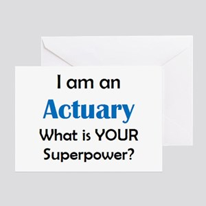 actuary Greeting Card