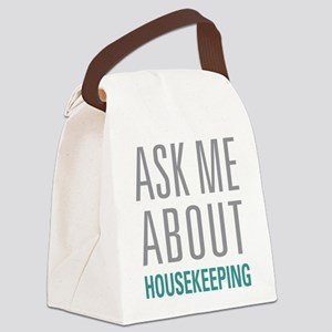 Housekeeping Canvas Lunch Bag