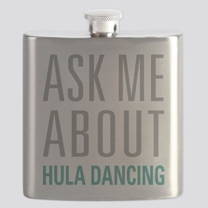 Hula Dancing Flask