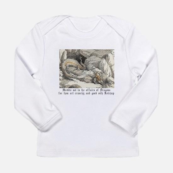 Cute Meddle affairs dragons Long Sleeve Infant T-Shirt