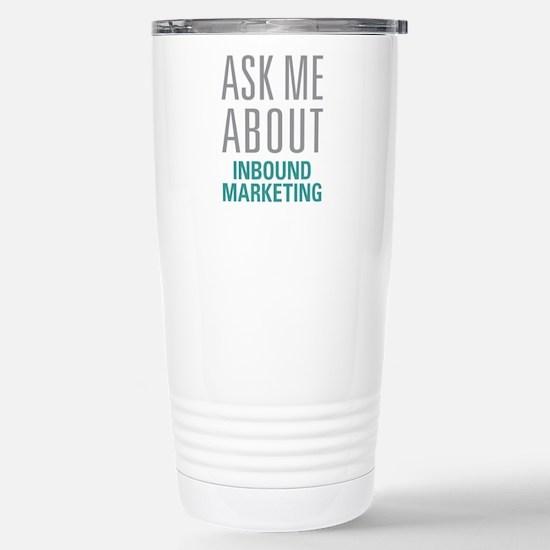 Inbound Marketing Stainless Steel Travel Mug