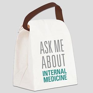 Internal Medicine Canvas Lunch Bag