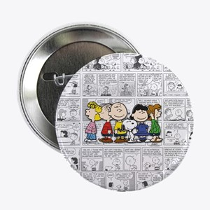 """The Peanuts Gang 2.25"""" Button"""