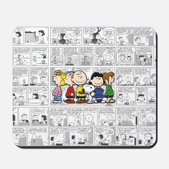 The Peanuts Gang Mousepad