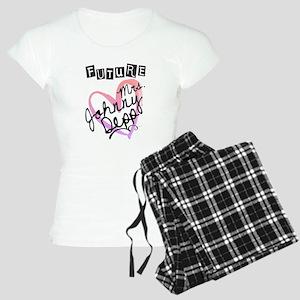 Future Mrs. Johnny Depp Women's Light Pajamas