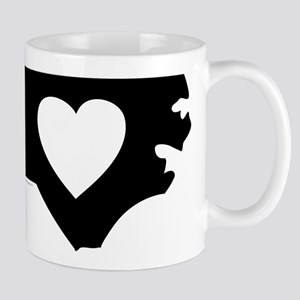I Love North Carolina Mug