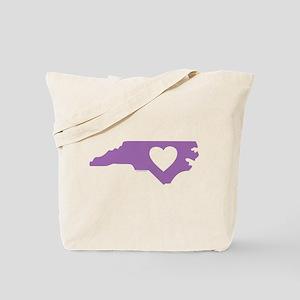 I Love North Carolina Tote Bag