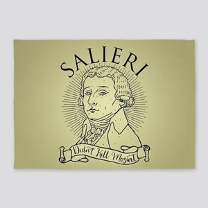Salieri Didn't Kill Mozart 5'x7'Area Rug