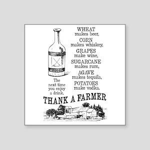 Thank a Farmer Sticker
