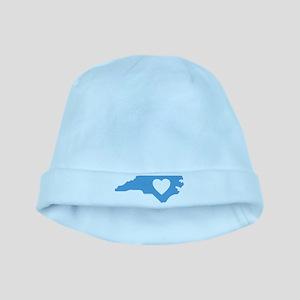 I Love North Carolina baby hat