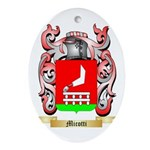 Micotti Oval Ornament