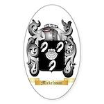Mickelsson Sticker (Oval 10 pk)
