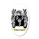 Mickelsson 20x12 Oval Wall Decal