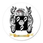 Mickeleit Round Car Magnet