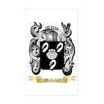 Mickeleit Sticker (Rectangle 50 pk)