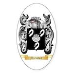 Mickeleit Sticker (Oval 50 pk)