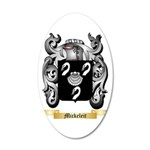 Mickeleit 35x21 Oval Wall Decal